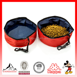 Folable Lightweight Pet Travel Bowl for Food and Water