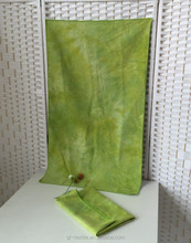Pro sports towel OEM leader tie-dyed suede gym towel