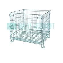 Warehouse foldable heavy duty foldable storage bin