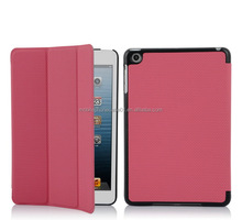 High Quality Factory pu leather stand protective case cover pouch for ipad mini