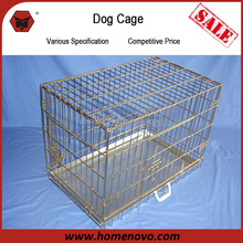 Manufacturer High Quality Hot Sale Indoor or Outdoor Durable 61x44x52cm Portable Strong Stainless Steel Dog Cage