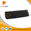 Air mouse keyboard of Mini wireless Keyboard MX3 Remote Control Fly Air Mouse for Smart Android Tv