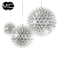 wholesale price high quality stainless steel ball silver chandelier lighting