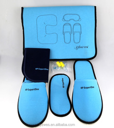Factory direct sell novelty gift durable travel kit for airline