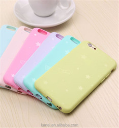 Starry Star Ultra Thin Jelly Candy Silicone TPU Soft Case Cover For iPhone 6