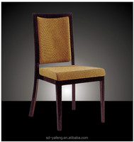 Stackable Steel Hotel Strong Wood Imitation Beautiful Wholesale Chair
