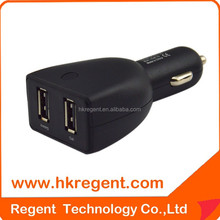 For iPhone 4 5 6 Samsung Galaxy S 3 4 5 Tab Dual 2 USB Car Auto Charger Adapter