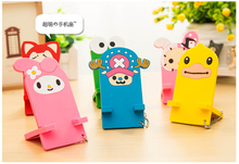 Splendid portable cartoon type mobile phone holder