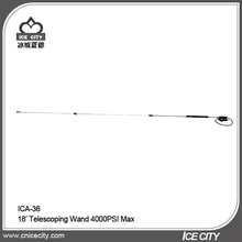 Aluminum 3 Sections 4000psi 18ft Telescopic High Pressure Washer Lance