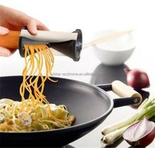 hot selling spiral potato slicer,spiral vegetable slicer with cleanning brush