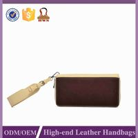 Hot Sales Luxury Quality Preferential Price Female Purse Genuine Leather