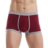 Plain Design 6419 Men Cheeky Underwear Big Size Sexy Man Thong Wholesale Mens Boxer Shorts