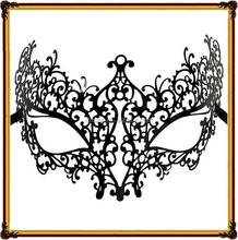 The foreign trade of high-grade metal mask Halloween party eye mask sexy hollow-out decorative pattern masks