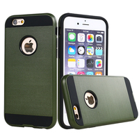 Free samples mobile phone cover for iphone 6 plus metal cover case