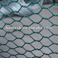 """3/4"""" pvc coating hexagonal chicken wire mesh rabbit pets cages"""