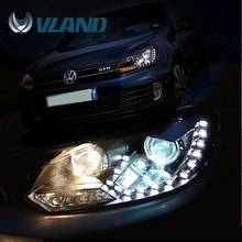 Emark Rohs VW golf6 auto body parts car led light auto accessories led headlight or cars