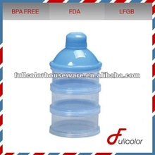 Plastic baby milk powder container bpa free
