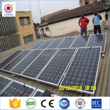 Solar Energy Solar Power Solar Panel for Grounding mounted Bracket