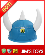 Blue Football Helmet for Fans 2015 World Cup
