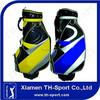 9.5 inch pu golf staff bag golf quality bag