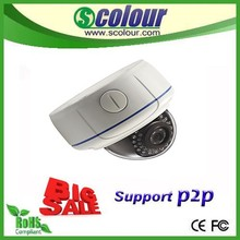 2015 hot sell ip camera 720P/960P/1080P dome ip camera with POE ,home/store/office use night vision ip camera
