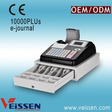 Black and white colors cash register machine VS-ECR5M for cash collecting