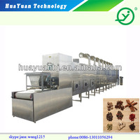 Automatic professional Microwave fruit and nuts drying Machine /Microwave dryer/Fruit Sterilizing Machine