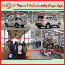Pickup & SUV automobile production plant with CKD parts