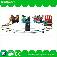 2014 new styles commercial electric trains sliding dragon