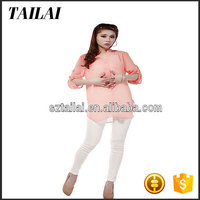Apparel supplier High quality Smart Lady blouses for fat