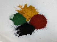 red iron oxide and yellow pigments for brick cement tiles color