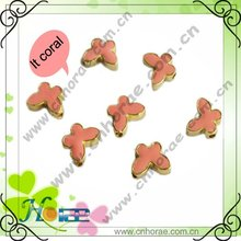 butterfly shape cheap fashion accessories/charms/ornament for jewelry