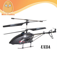 2.4G big metal RC U13A airplane with camera rc helicopter rc toy