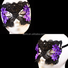 Masquerade princess black and purple masquerade masks
