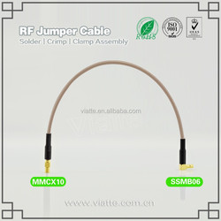 OEM and ODM mmcx antenna rg11 coaxial cable connector