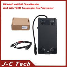 TM100 4D and ID46 Clone Machine Work With TM100 Transponder Key Programmer