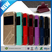 C&T Impression Series Magnetic Smart Cover Stand Case with Window View for Iphone 6 plus 5.5""