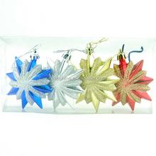 2015 fashionable hanging christmas decoration , snowflake personalized christmas ornament