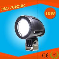 High Lumens Auto 10W Led Work Light ytw10 led working light bar 10w