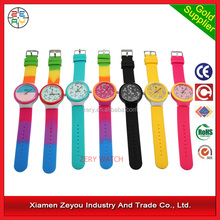R0705 Custom promotional silicone kid watch/promotional watch silicone