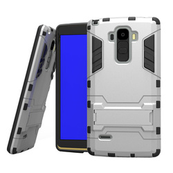 3 in 1 Pattern Tank Kickstand Hybrid Cover Case for LG G4 Note with Built-in Screen Protector