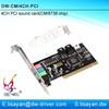 Factory direct sale cmi8738 mini pci 4ch sound card with driver