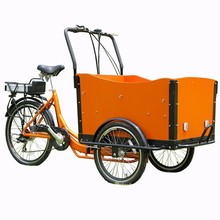 HOT SALE High quality three wheel pedal cargo bicycle popular in USA