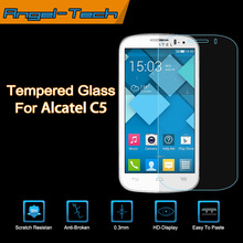 Tempered glass screen protector for alcatel pop c5