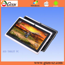 Q88 7 Inch Tablet PC A33 quad core Android 4.4 KitKat paypal ok