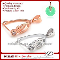 XD P412 jewelry findings and accessories sterling silver bail