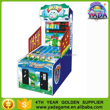 Coin operated balls shooting game machine Frog Prince lottery game machine