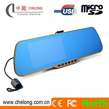 Wholesale Chelong 5.0inch A20 120deg 6G A+ Lens two cameras/dash cam 720p