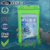phone waterproof bag for iphone/mobile phone waterproof bag for iphone/earphone waterproof phone bag