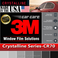 "36"" x 70"" CR70 Crystalline 70% VLT Housing Automotive Car Truck Roll 3M Window Tint Film"